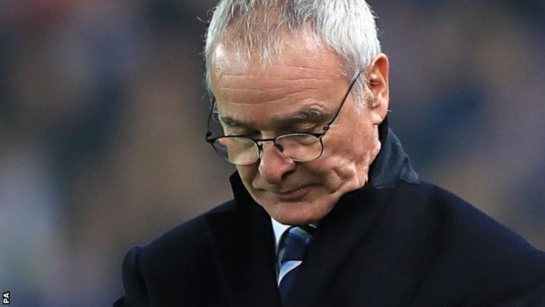 Leicester City sack Ranieri, Premier League-winning coach