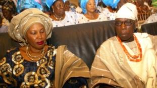 Obasanjo's wife loses bid to stop son's wedding