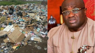 Refuse dump mounts in Umahia, Abia State capital