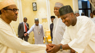 2017 Budget: Buhari meets Saraki, Dogara behind closed doors