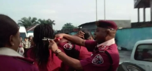 FRSC recalls sector commander for cutting hair of female officers