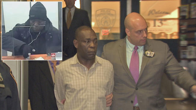 53-year-old Nigerian arrested for bank robbery in New York
