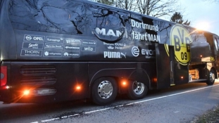 Breaking… (updated) Dortmund team bus hit by explosion, match cancelled