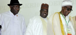PDP crisis worsens as Sheriff walks out on Jonathan at stakeholders meeting