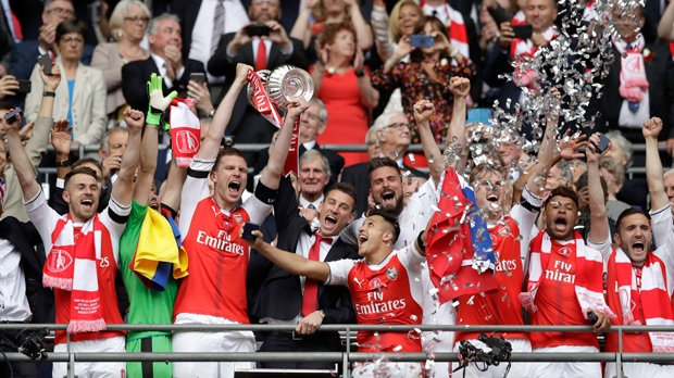 (UPDATED) Arsenal wins 2017 FA Cup for a record 13th time