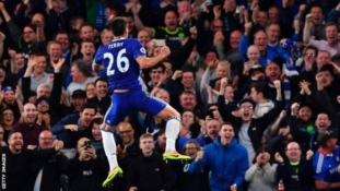 Chelsea celebrate title win with a 5-3 victory over Watford