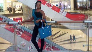 Photos of Olajumoke, 'the bread seller' in South Africa
