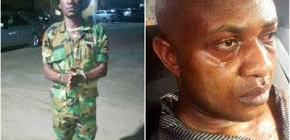 Nigerian soldier who was part of Evans' kidnap gang arrested