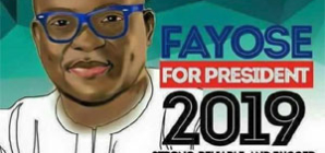 When Fayose becomes president — what will be your excuse?