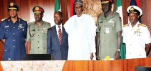 Buhari orders service chiefs to go after Biafra secret service, others