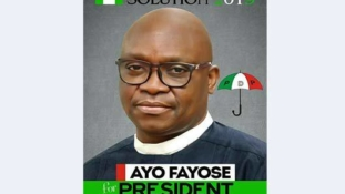 Fayose formally declares to run for Presidency in 2019