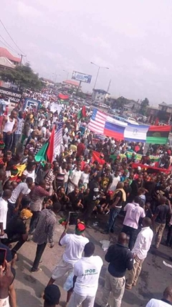 WE cannot be crushed, IPOB fights back