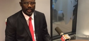 George Weah leads in early Liberia election results
