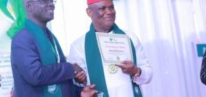 Double barrel honour for Akwa ibom works Commissioner, Akparawa Ephraim Inyang