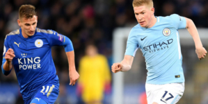 Mancity ease past leicester to make it 10 straight Premier League wins