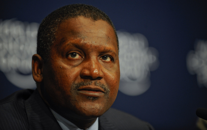 Dangote, Elon Musk in Bloomberg's 50 most influential