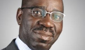 Obaseki laments darkness, orders BEDC boss out of his office