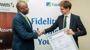 PHOTOS: Fidelity bank receives BCMS & ISMS CERTIFICATION