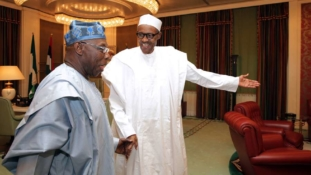 Again, Buhari hints at probing Obasanjo over $16bn power expenditure