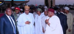 Why i don't rush to violent hit states- Buhari