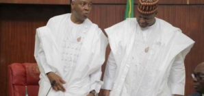 We will respond appropriately to Buhari's veto of electoral act- Saraki, Dogara