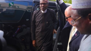 PHOTOS: Buhari arrives Washington D.C.