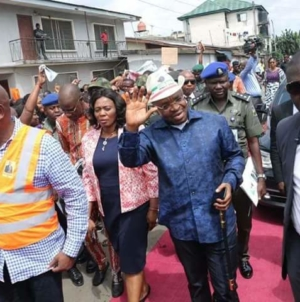 3rd Anniversary : Uyo Agog As Gov. Emmanuel inaugurates 11 more Roads