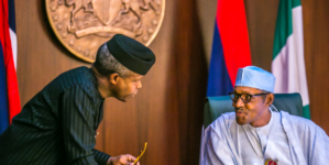 Women want your job, Buhari tells Osinbajo
