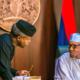 Women want your job, Buhari tells Osinbajo