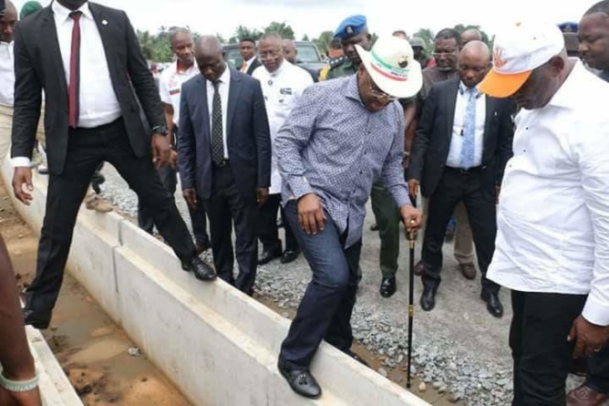 3rd Anniversary: Gov Emmanuel to commission more Roads, commends works Commissioner.