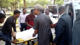 (Updated with Video) : Olisa Metuh cries in court as doctor explains his condition to Judge