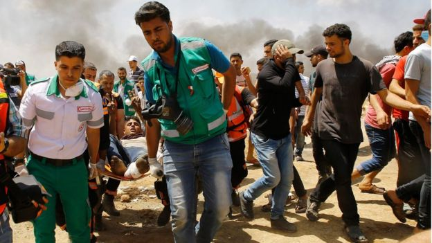 Dozens killed as US opens embassy in Jerusalem