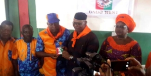 Mimiko picks Labour Party membership card amid controversy