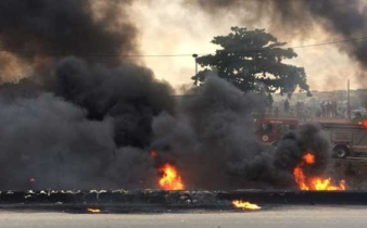 Jos main market gutted by fire