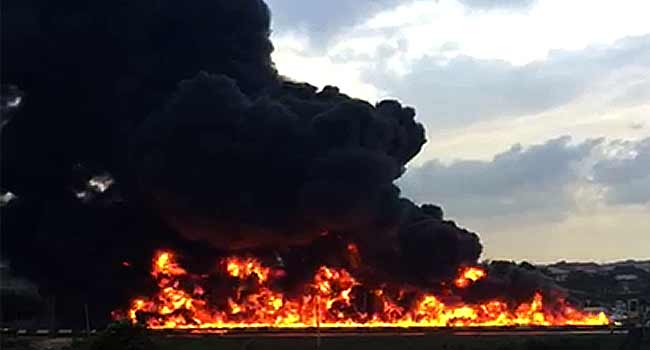 Nine dead, 54 vehicles burnt on Otedola bridge tanker explosion