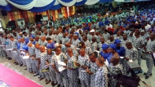 Gov. Emmanuel lauds TIEIP's  support, urges members to collect their PVCs