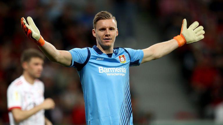 Arsenal in advanced talks to sign Bernd Leno from Bayer Leverkusen