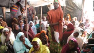 Nigeria Army rescue 58 women used as sex slaves by Boko Haram