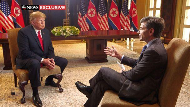 'I do trust him': Trump opens up about Kim after historic summit