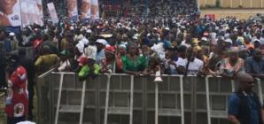 Ekiti people defy Fayose, troop out for Buhari, Fayemi