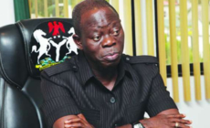 Ortom still in APC – Oshiomhole