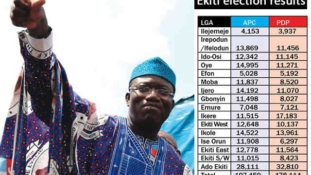 INEC declares Fayemi winner of Ekiti governorshi election