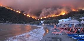 Wildfire ravages Greek seaside, kills 74