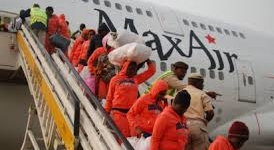 Another batch of 160 Libya returnees arrive Lagos