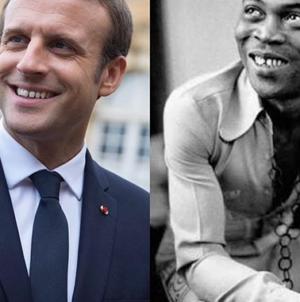 Why I chose to visit Fela's Afrika shrine- Macron