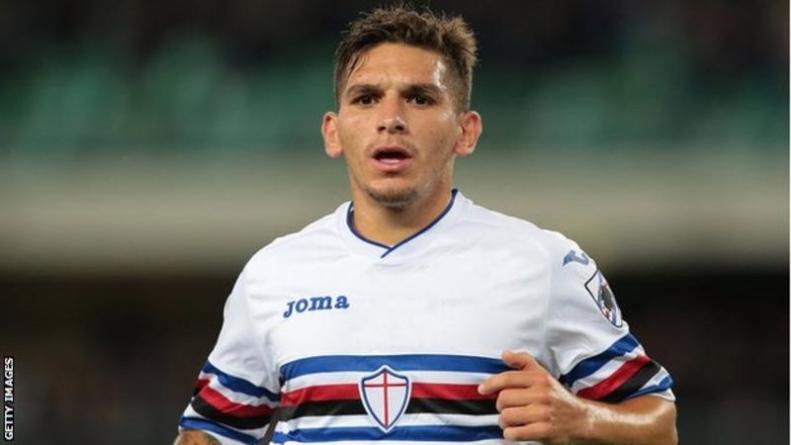 Arsenal sign Lucas Torreira from Sampdoria
