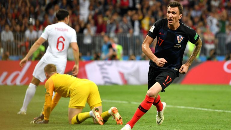 (UPDATED) Mandzukic's extra time strike sends Croatia into first ever world cup final