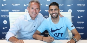 Riyad Mahrez joins Manchester City