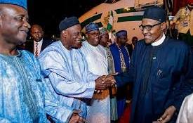 Buhari returns to Abuja after 6-day trip to China