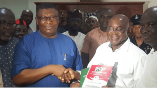UPDATED: David Mark picks nomination form, promises to fix economy in two years